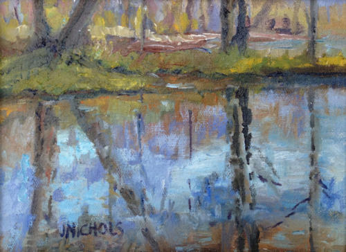 Jill Nichols, oil painting, , Early_spring